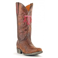 Gameday Boots Mens Leather Texas A&M Board Room Cowboy Boots