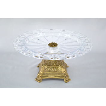 Three Star Elevated Glass Cake Platter & Reviews | Wayfair