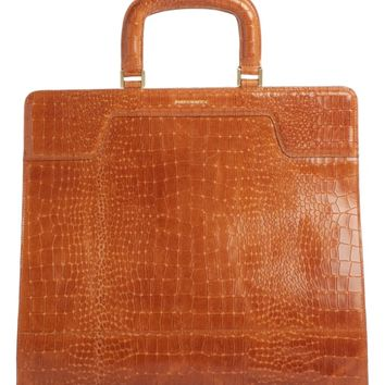Dries Van Noten Large Handheld Embossed Leather Tote | Nordstrom