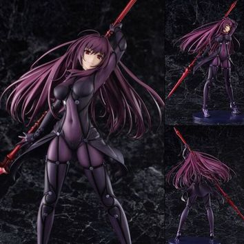 Fate/Stay Night Action Figures Fate Grand Order Lancer Scathach Figure Toy Aquamarine Fate Anime Model Fate