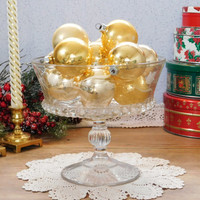 Gold Christmas Ornament Collection
