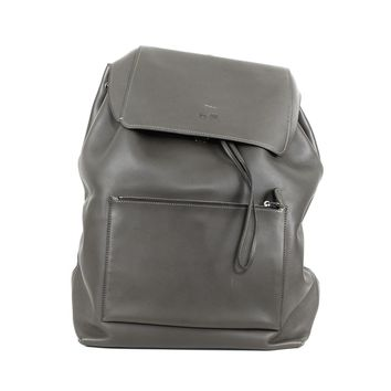 Coach Olive Green Leather Backpack
