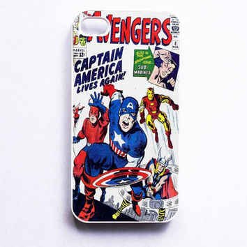 Avengers Captain America Phone Case For iPhone Samsung iPod Sony