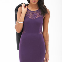 FOREVER 21 Dynamite Lace Bodycon Dress