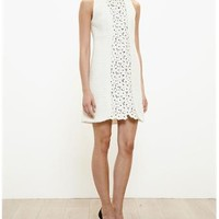 GIAMBATTISTA VALLI | Floral Macrame Panel Dress | brownsfashion.com | The Finest Edit of Luxury Fashion | Clothes, Shoes, Bags and Accessories for Men & Women