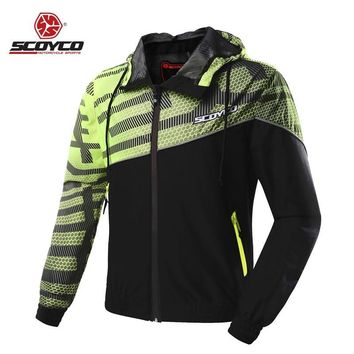 Trendy Motorcycle Clothes Men Moto Jackets Jerseys Casual Urban Dust Coat Reflective Motobike Motocross Racing Protective Protection AT_94_13