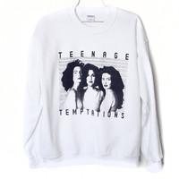 Teenage Temptations / Twin Peaks Sweatshirt by BurgerAndFriends
