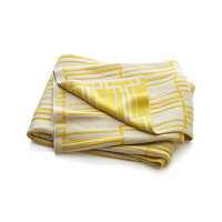 Miles Yellow Throw