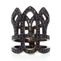 Black Gold Vatican Ring | Moda Operandi