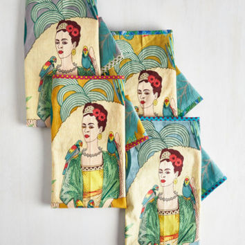 Dorm Decor Paint Me a Picture Tea Towel Set by Karma Living from ModCloth