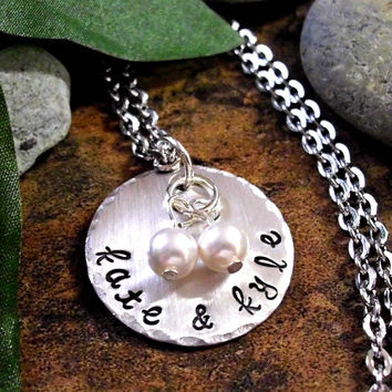 Wedding Necklace, Personalized Engagement Jewelry, Engagement Necklace, Anniversary Necklace, Anniversary Jewelry