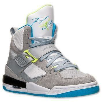 Boys' Grade School Jordan Flight 45 High Max Basketball Shoes