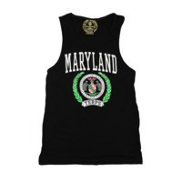 University of Maryland Neon Green Crest (Black) / Tank