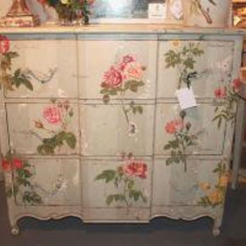 French Rose 3 Drawer Chest