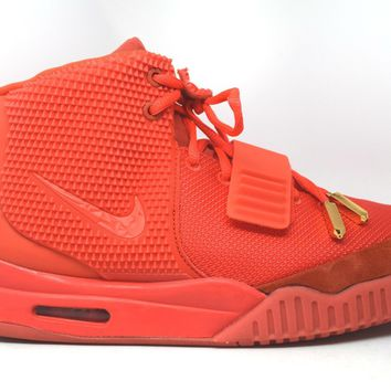 KU-YOU Nike Air Yeezy 2 SP Red October *Tried on*