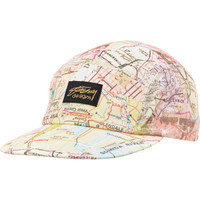 Stussy Tour Map Yellow Camper 5 Panel Hat at Zumiez : PDP