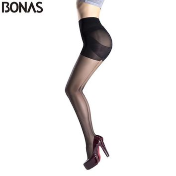 Style Solid Sexy Slim Nylon Pantyhose Girl Fashion Tights Lady Spandex Elasticity Waist Stocking Cheap