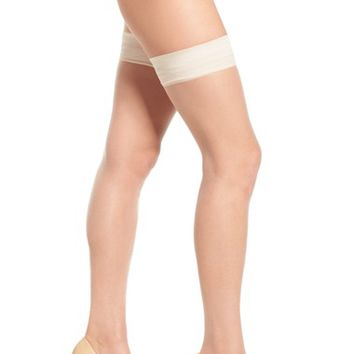 Donna Karan Beyond The Nudes Stay-Up Stockings | Nordstrom