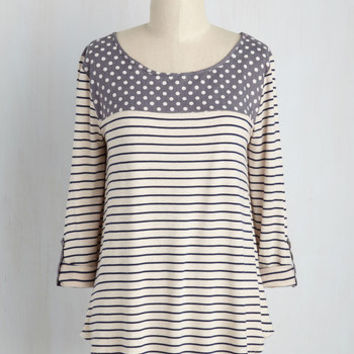 Pitter-Pattern Top