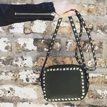 INZI Studded Crossbody