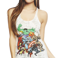 Marvel Comics Tank | Wet Seal