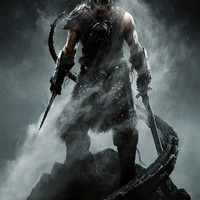 The Elder Scrolls V: Skyrim Dovahkiin Video Game Poster