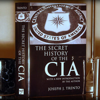Hollow Book Safe & Flask The Secret History of the CIA (Flask Included)