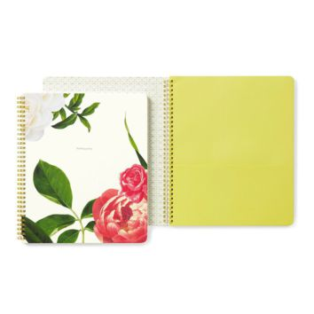 Floral - Large Spiral Notebook - Kate Spade