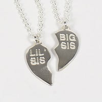 Big Sis/Lil Sis Necklace