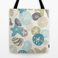A Walk on the Beach Tote Bag by Noonday Design | Society6