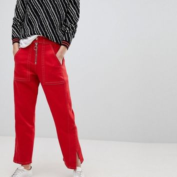 Whistles Limited Contrast Stitch Jean at asos.com