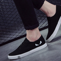 Personality Little Monsters Canvas Leisure Sneakers