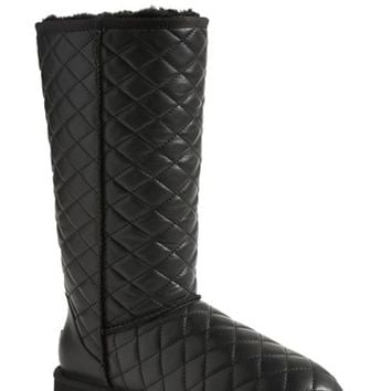 Women's UGG Australia 'Classic - Tall' Diamond Quilted Boot