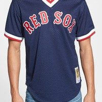 Men's Mitchell & Ness 'Ted Williams - Boston Red Sox' Authentic Mesh BP Jersey
