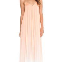 Young, Fabulous & Broke Fortune Maxi Ombre Dress in Orange