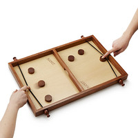 Pucket | family game night, wood game