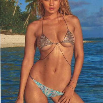 Gigi Hadid Sports Illustrated Swimsuit Poster 22x34