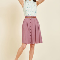 Bookstore's Best A-Line Skirt