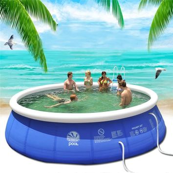 NEW Summer Water Sports Baby Kids Inflatable Swimming Pool  PVC  Portable Swim Family Play Pool Children Bath Tub Kids toy