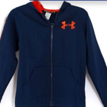 Under Armour Storm Armour Fleece Magzip Hoodie for Boys 1248848-400