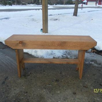 Wooden Bench, Coffee Table, Dining Bench, Entry Reclaimed Wood, Hallway Bench, TV Stand