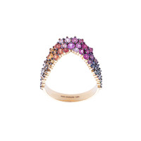 Ana Khouri Simplicity Ring - Multicolor Crystal Ring