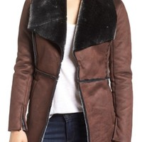 KUT from the Kloth 'Abigail' Faux Shearling Coat | Nordstrom