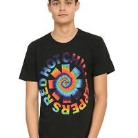 Red Hot Chili Peppers Tie Dye Logo T-Shirt