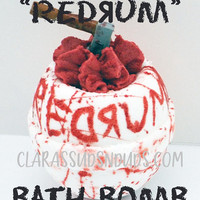 REDRUM : The Shining (inspired) bath bomb