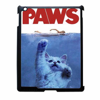 Paws Parody From Jaws Movie iPad 4 Case