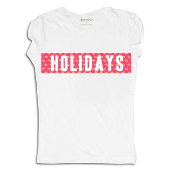 "T-Shirt ""Holidays"""