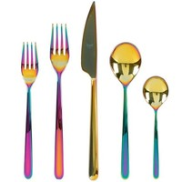 Linea Rainbow Iridescent Flatware