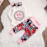 Cotton Baby Rompers Long Sleeve