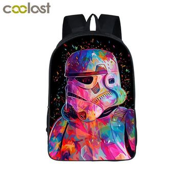 Star Wars Colorful Stormtrooper Backpack